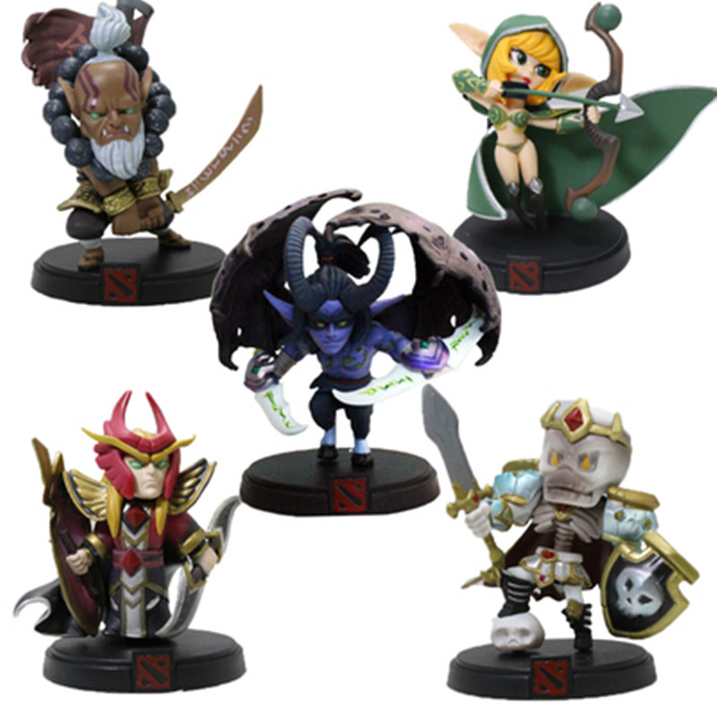 WOW Alle Stijlen DOTA 2 Game Figuur Kunkka Lina Pudge Queen - Speelfiguren - Foto 3