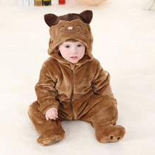 Xmas Halloween 0-24M Baby Rompers 2016 Baby Boys Clothing Infant Totoro Costume Jumpsuit Rompers