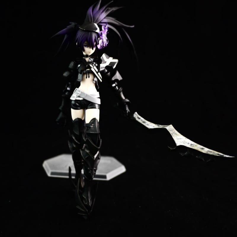 NEW 15cm Mato Kuroi BLACK ROCK SHOOTER Insane BLACK ROCK SHOOTER movable action figure toys collectors with box