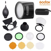 Godox AD200 flash accessory H200R Round Flash Head and EC 200 Extension Head AK R1 Color temperature reflector R S1 adapter