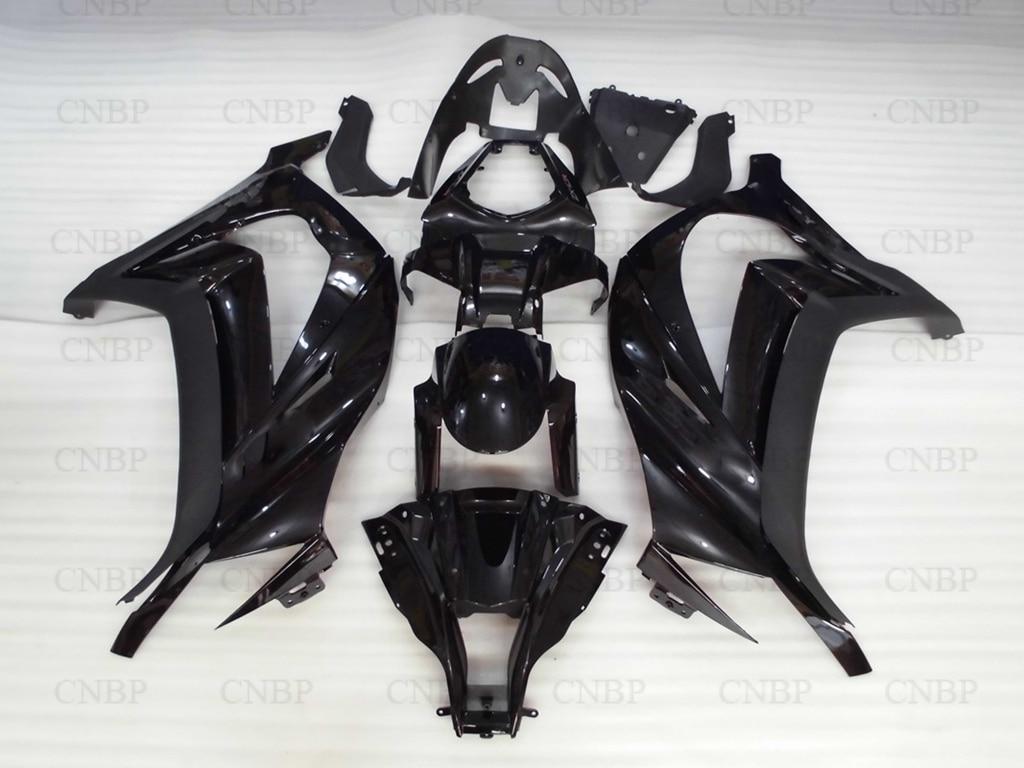 Обтекатели на ZX 10r с 2012 Кузов на ZX-10r с 2012 2011 - 2015 черный обтекатель для Kawasaki ZX10r 11 12