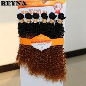 Image 5 - T1B/613 Afro Kinky CURLY Hair สานสูงอุณหภูมิสังเคราะห์ Ombre ผมรวมกลุ่ม