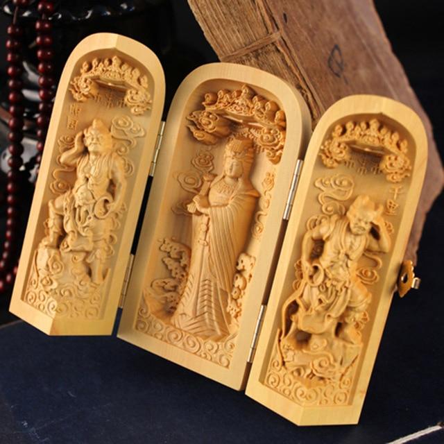 Late th century boxwood carving of st joseph bada