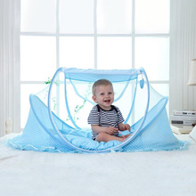2019 New Foldable Baby Mosquito Net Tent Netting Portable for Crib Cot Bedroom Outdoor