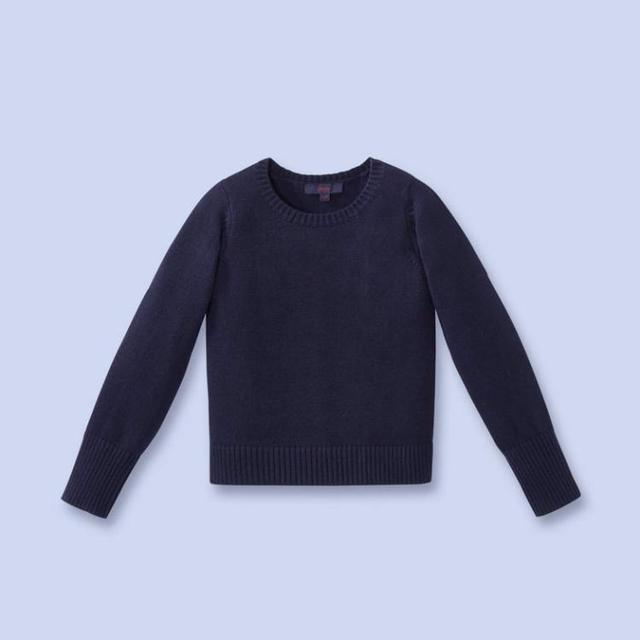Jacadi 2016 niña niñas niños chaqueta de punto niña suéter otoño tire pour enfant fille meisjes chaleco trui 8