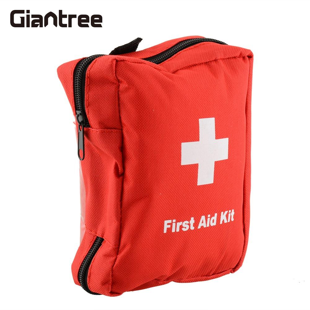 giantree 7 Inch Outdoor 70PCS Camping First Aid Case Medicine box travel Emergency Medical Treatment box Hiking First aid kit 35pcs pack travel outdoor safe camping hiking travel emergency emergency box case first aid kit survival