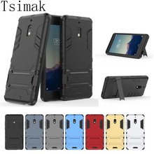 Tsimak Case For Nokia 2 2018 Cover Silicone Shockproof 2 in 1 TPU+PC Hard Armor Back Coque For Nokia 2.1 Phone Cases
