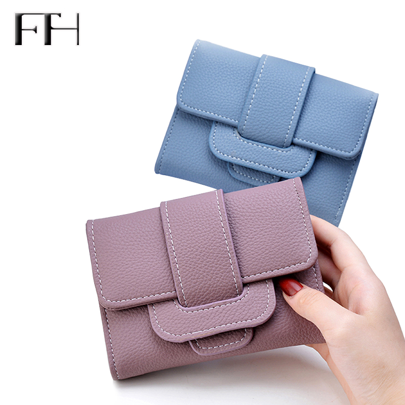 Impressive Women elegant Soft Leather Wallet Female brief Clutches lady Tri-Fold hasp Coin Purse Card Holders For Girls hot sale
