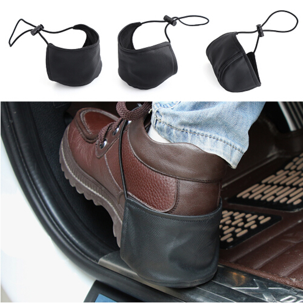 Hard-Working 1pcs Car Styling Shoes Heel Protection For Alfa Romeo Mercedes W202ford Audi Q7 W212 Nissan Juke Lexus Is200 Toyota Estima Limpid In Sight Car Tax Disc Holders Exterior Accessories
