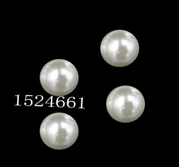 6 мм диаметр. 500 шт. круглый Бусины * круглый жемчуг имитация Пластик жемчуг Бусины белый для вас DIY ювелирные изделия