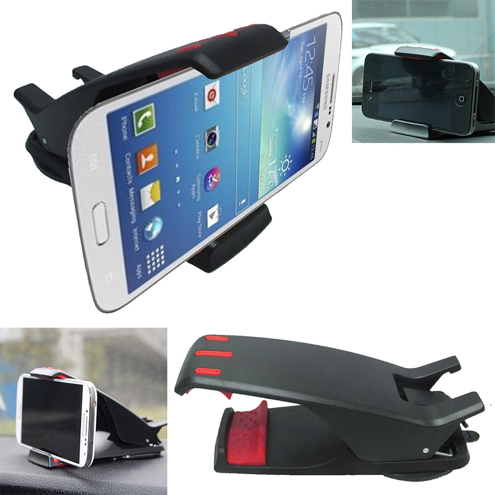 New Phone Holder Mobile Phone Stand Cradle for Samsung Car Dashboard Holder Hippo Mouth Car Holder Support GPS
