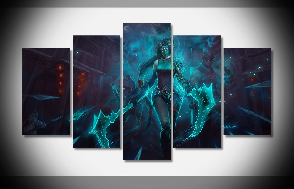 League of Legends Wall Poster Painting Print on Canvas Game Modern Art Decor Unframed