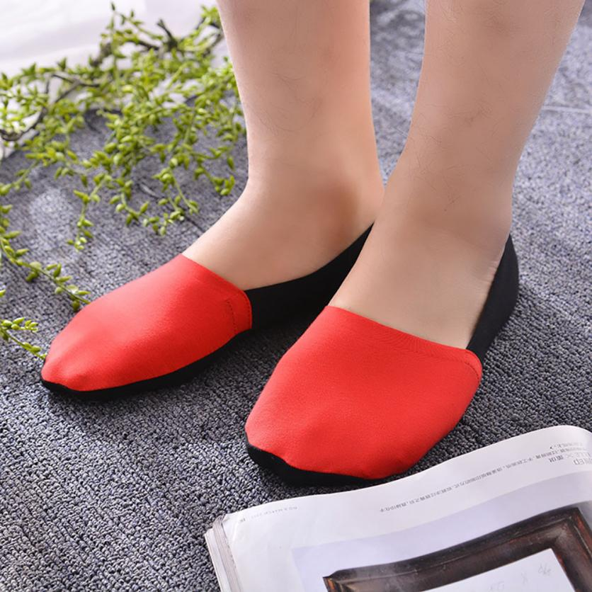 Popular Style Man Sock New Elastic Silica gel Antiskid Short Silk Patchwork Ankle Socks Moistureproof Socks Elastic Men Meias