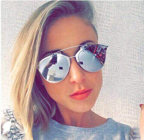 mirror sunglasses for women  Aliexpress.com : Buy with box\u0026 cloth 2015 Newest sunglasses mirror ...