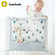 BAAOBAAB CW011 Multi-functional Baby Bed bumper Hanging Storage Bag Crib Sides for Both Bed and Stroller's Pocket Accessories