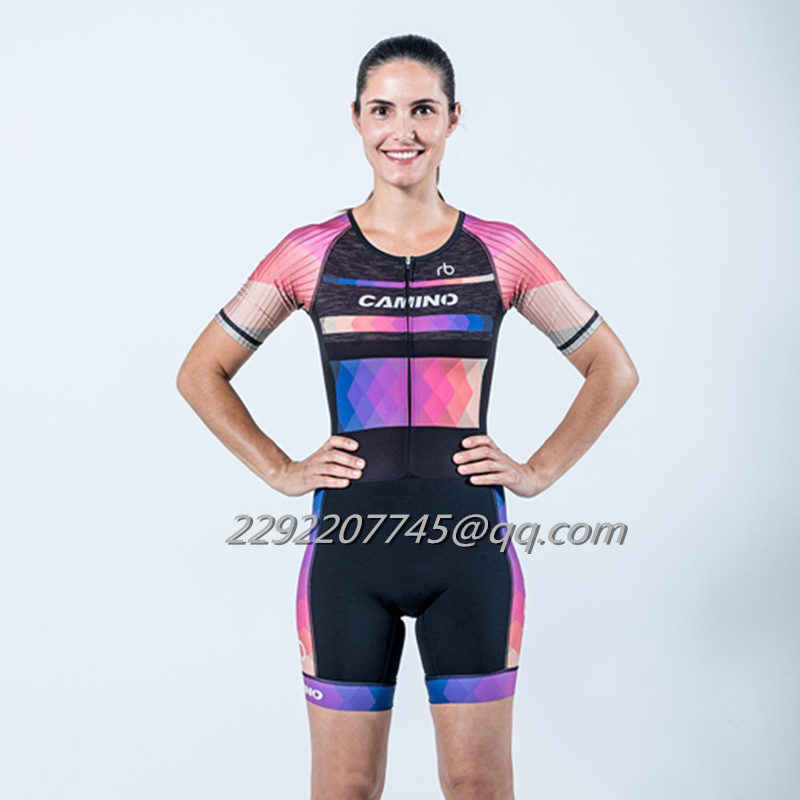 Detail Feedback Questions about 2018 camino trisuits woman skinsuit ... 2dc0b7191