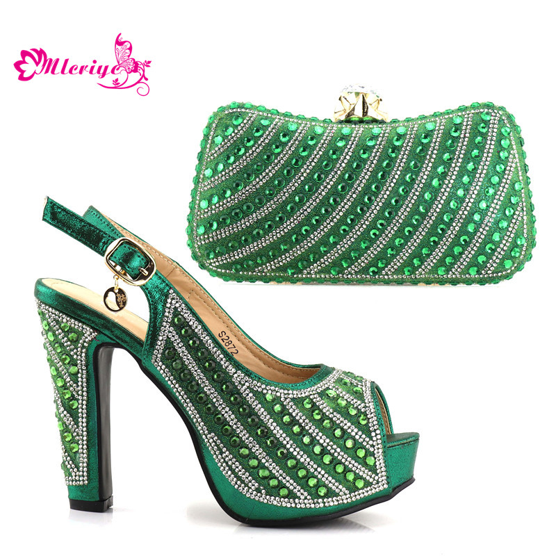 2872 Italy Shoe And Bag!! African shoe and bag set high heel italian shoe with matching bag best selling ladies matching shoe