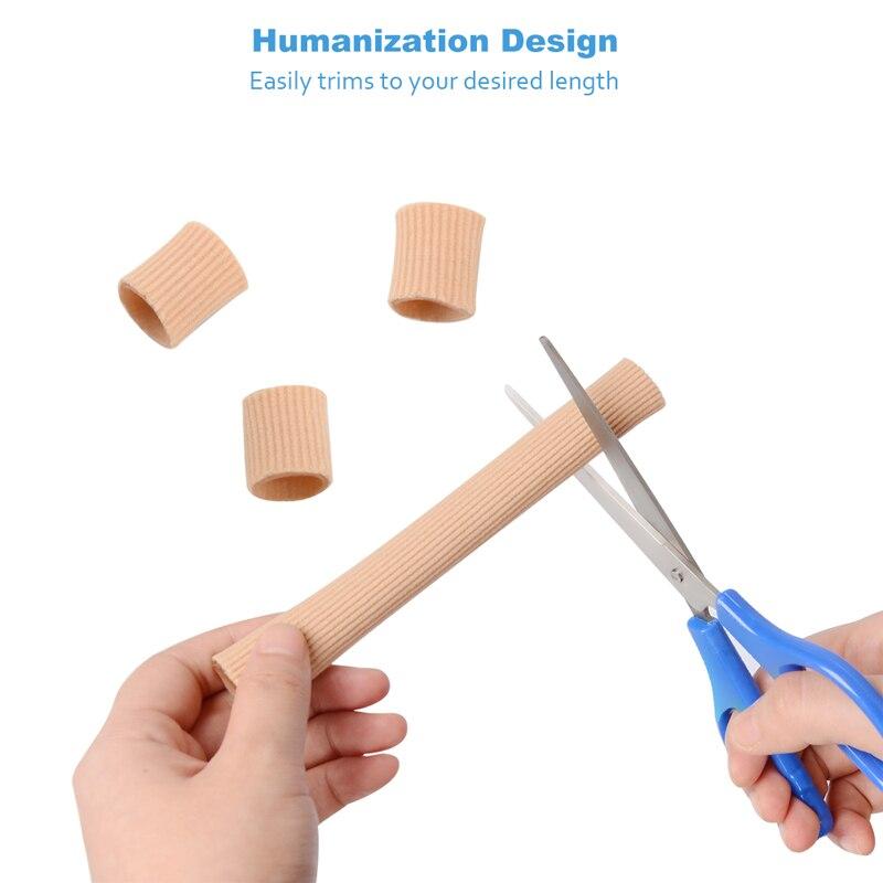 1,8 * 20cm Fabric Gel Tube Bandage Finger & Toes Håll Kudde Corns - Sko tillbehör - Foto 3