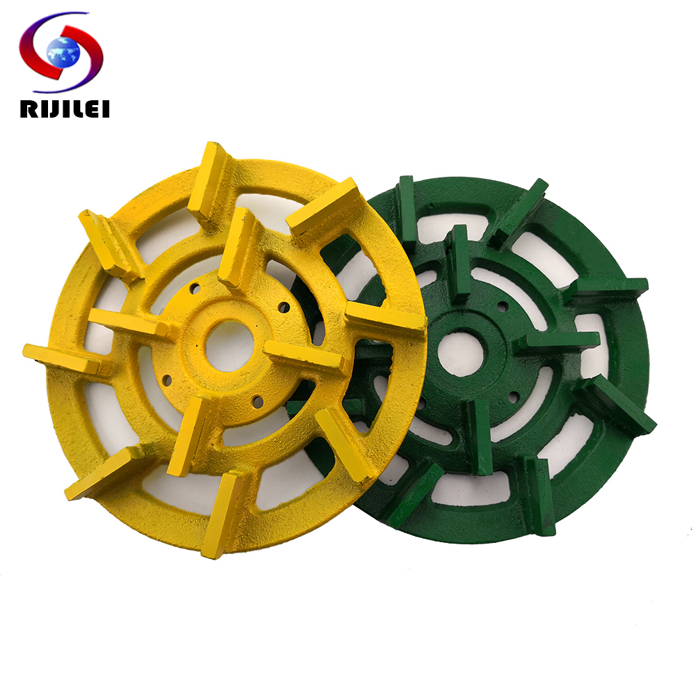 RIJILEI 7Inch Diamond Metal Bond Grinding Disc 180mm Grinding Wheel For Auto Polishing Machine Grinding Abrasive Tools MG01