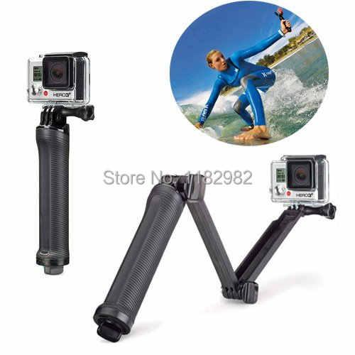 3-сторонний выход штатив-монопод с креплением на руку штативом кронштейном для съемки под водой портативная ручка 3 Way Штатив для экшн-Камеры GoPro Hero 7 6 5 4/3 + SJ4000 SJ5000 спортивной экшн-камеры Xiaomi Yi