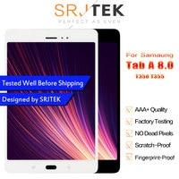 Srjtek 8.0 LCD For Samsung Galaxy Tab A 8.0 SM T350 T350 SM T355 T355 LCD Display Matrix Touch Screen Digitizer Full Assembly