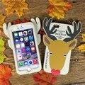 """Для iphone6/6 Плюс Чехол любовный напиток холод таблетки 3D Мультфильм мягкий Силиконовый Чехол Обложка Для iPhone6/6 Плюс 6 s Плюс 5.5 """"задняя Крышка"""
