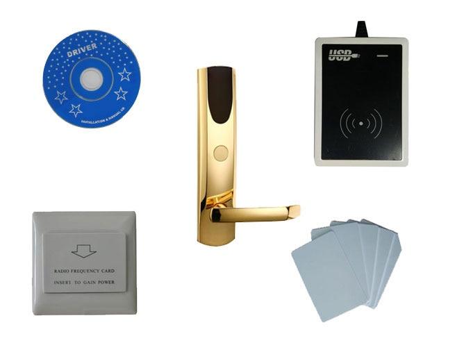 T57 система блокировки отель, включают T57 замок гостиницы, USB гостинице кодер, энергосбережения, T57 карты, sn: ca 8028 kit
