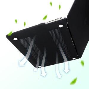 Image 4 - Pour MacBook Air 13 étui 11 pro retina 12 15 barre tactile couverture dur mat étui mat couverture translucide