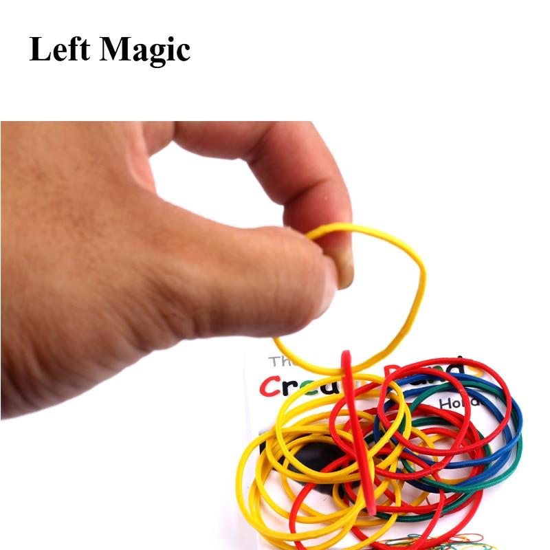 The Cream Bands By Hondo Gimmicks Magic Tricks Props Magic Tools Comedy Close Up Mentalism Stage Close-up Comedy E3056
