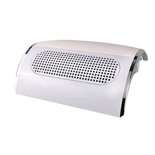 Nail Art Suction Dust Collector 3 Fans 15/40W UV Gel Polish Tip Dust Collector Nail Salon Tool Vacuum Cleaner Manicure Machine