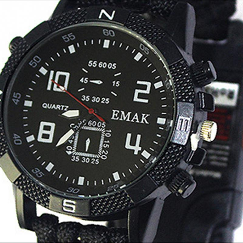 aeProduct.getSubject()  EDC Tactical multi Outside Tenting survival bracelet watch compass Rescue Rope paracord gear Instruments package HTB1Lx09FHSYBuNjSspfxh7ZCpXam