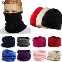 KANCOOLD Scarf 3 in 1 Men Women Unisex Polar Hat Neck Warmer