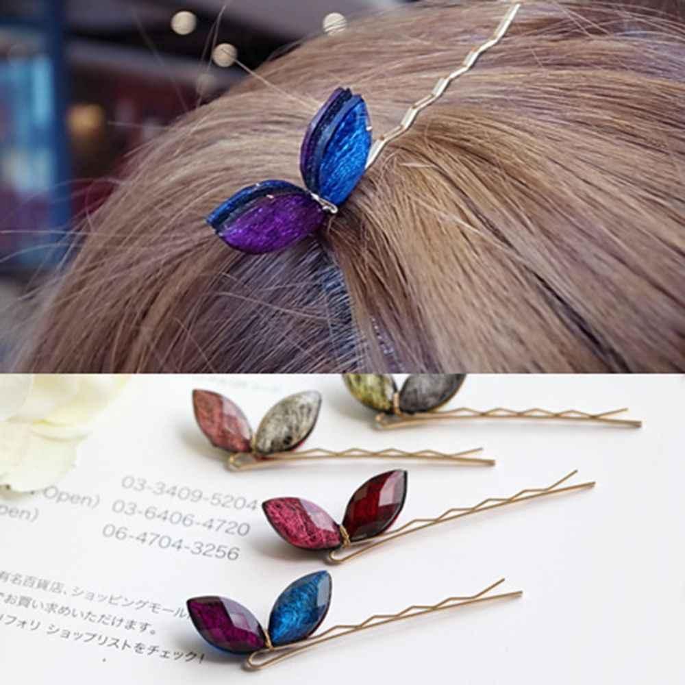 Mulheres Headwear Strass Presilhas de cabelo para Headbands Grampos de cabelo Meninas Acessórios Para o Cabelo Cor de Ágata de Cristal Do Sexo Feminino Mulheres Hairclips