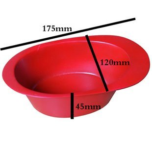 Free shipping  professional salon use hair color mixing bowl