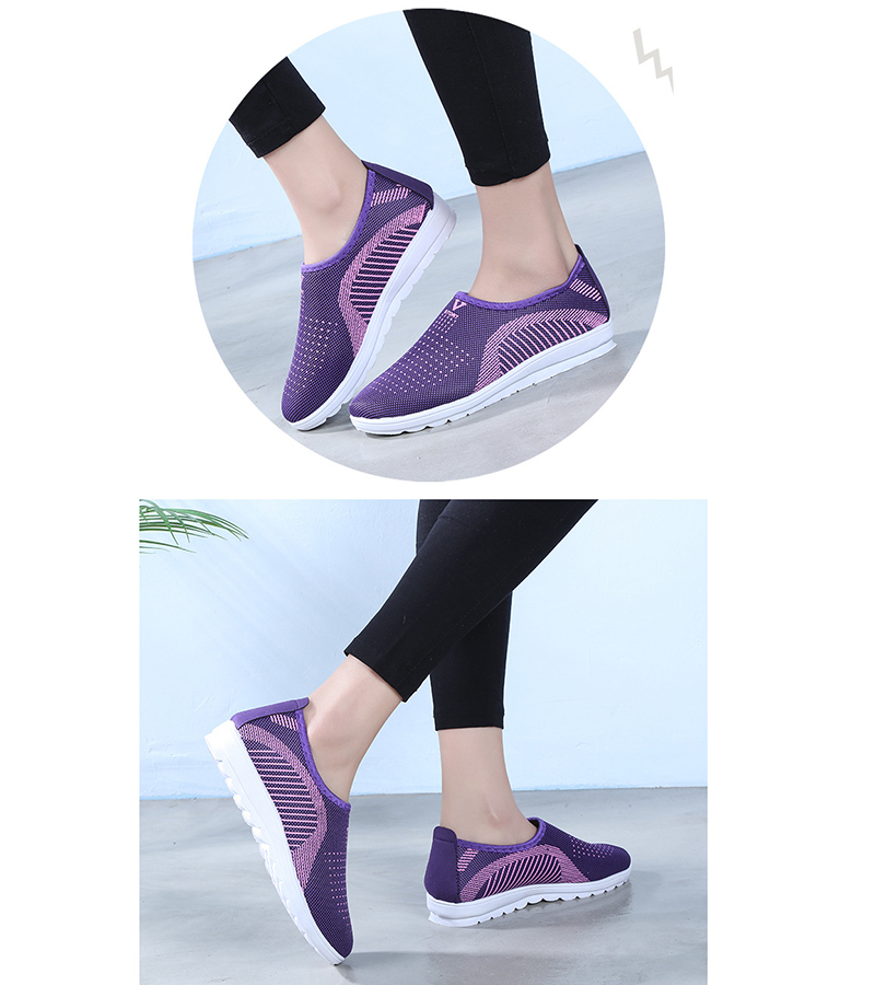 Mesh women sneakers Breathable Slip On casual shoes women fashion comfortable Summer Flat Vulcanize Shoes Zapatos Mujer VT248 (6)