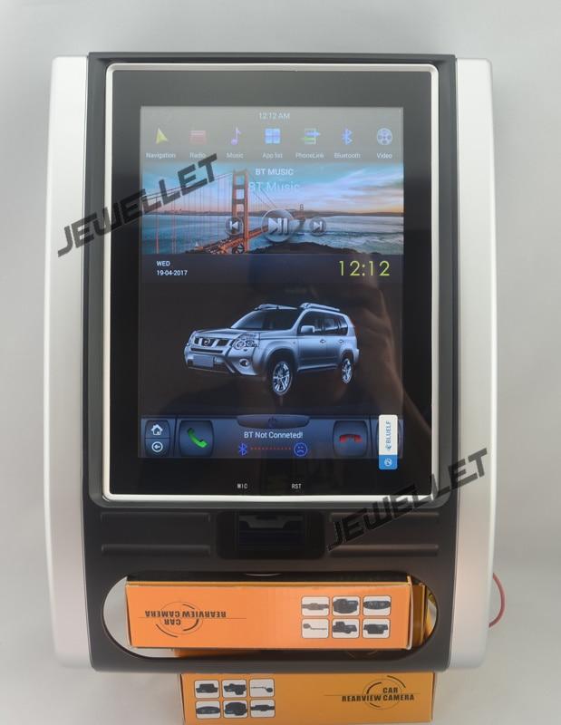 10.4 tesla style vertical écran android 6.0 Quad core De Voiture GPS radio Navigation pour Nissan X-trail 2008 -2013