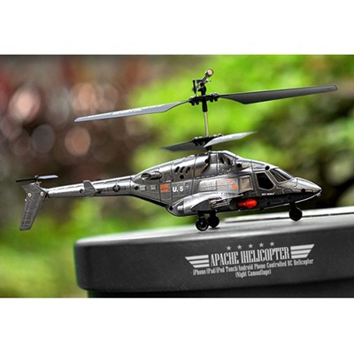 US $49 99  Helicopter Apache for iPhone/iPad/iPod Touch/Android Phone  Controlled RC Helicopter RC Toy-in RC Helicopters from Toys & Hobbies on