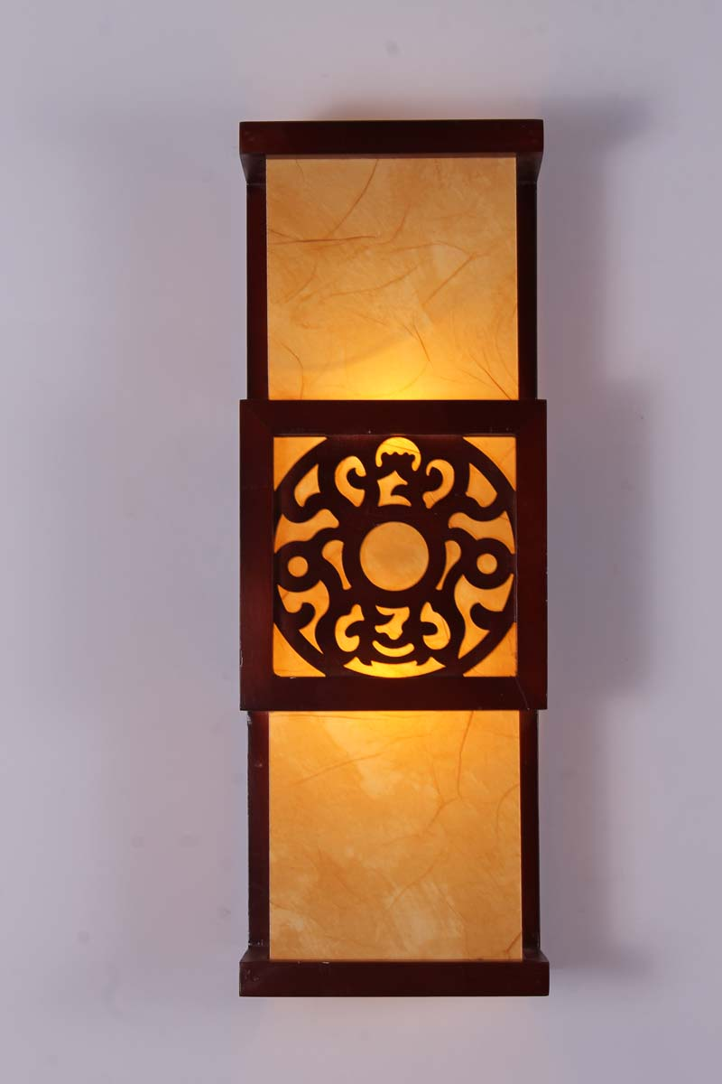 Wall lights japanese style sheepskin wall lamp classical wall lights chinese style mozeypictures Gallery