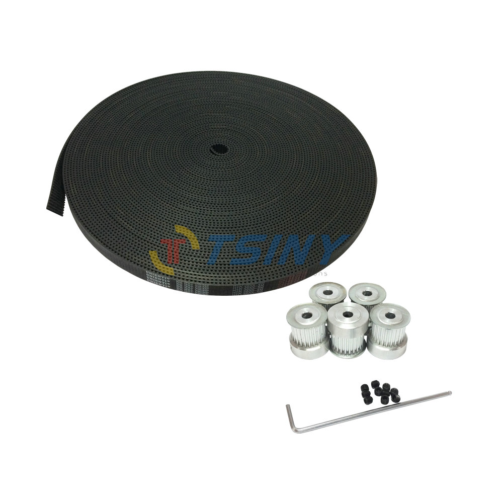 5pcs 22 teeth HTD 3M Timing Pulley Bore 6mm 8mm + 5Meters 3M open ended timing belt width 15mm for laser engraving CNC machines5pcs 22 teeth HTD 3M Timing Pulley Bore 6mm 8mm + 5Meters 3M open ended timing belt width 15mm for laser engraving CNC machines