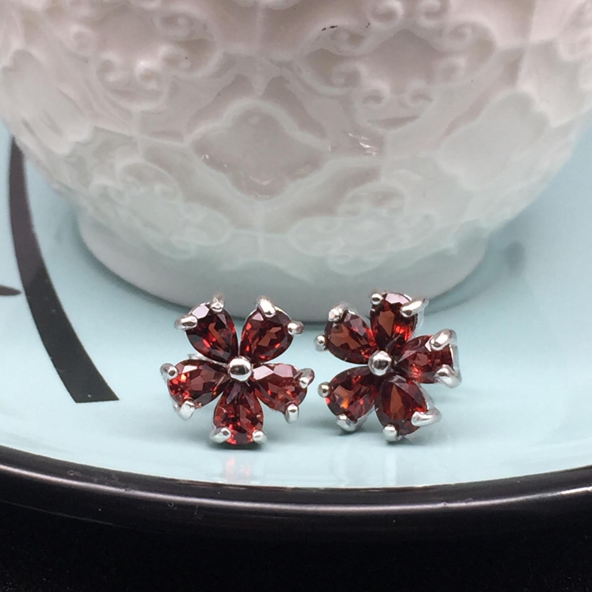 Echtschmuck Uhren & Schmuck Generous Schmuck-stck Ring 925 Silber Neu Suesswasser Perle S Elegant In Style