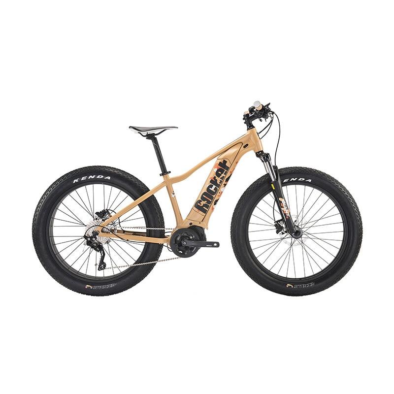 26 pouces Rocker E + boosts VTT freins à disque hydrauliques à 10 vitesses vélo électrique gros ebike monticule électrique