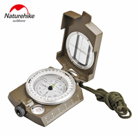 NatureHike Multifunctional Lens Digital Geological American Compass Marine Outdoor Camping Military Sports Navigator Equipment