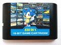 Игровой картридж EDMD для США, Японии и Европы SEGA GENESIS MegaDrive (MD) консоль