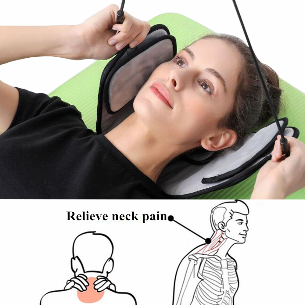 цена на Home Office Neck Relief Neck Massage Hammock Stretch Neck Muscles Posture Correction