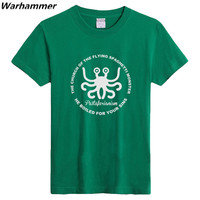 2015 Hot Sales All Over The World The Flying Spaghetti Monster Icon Printing T Shirts Workmate