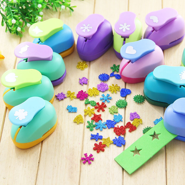 15mm Puncher Scrapbooking Punches Shaped Hole Punch Paper Cutter