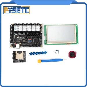 "Image 3 - FYSETC F6 V1.3 ALL in one anakart + 4.3 ""dokunmatik ekran + 6 adet TMC2100/TMC2208 /TMC2130 v1.2/DRV8825/S109/A4988/ST820"