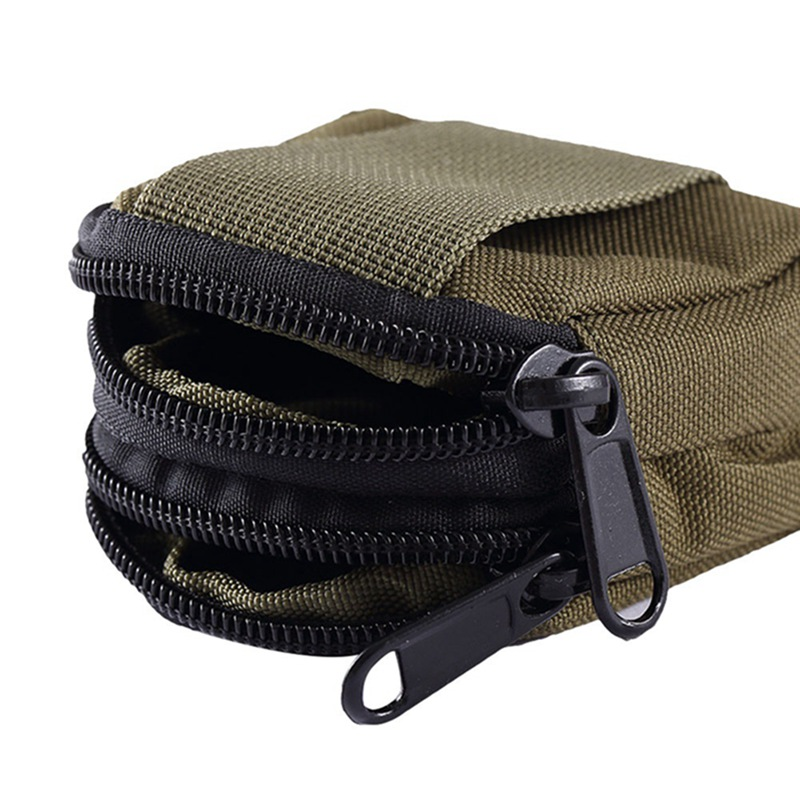 Tactical Waist Bag Multifunctional Nylon Waterproof Bag Military Key Coin Bag Purses Utility Pouch Organizer Molle Pouch Camping