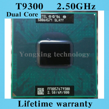 Lifetime warranty Core 2 Duo T9300 2.5GHz 6M 800 Notebook processors Laptop CPU PGA 478pin Official version Computer