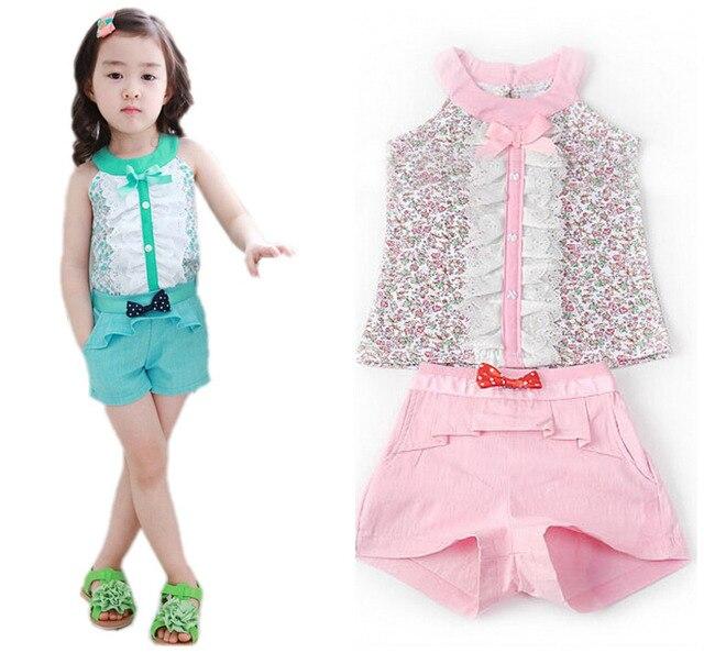 fef005a8968a5 2019 été style bébé fille enfants vêtements arc princesse vêtements  ensemble bébé filles vêtements enfants vêtements